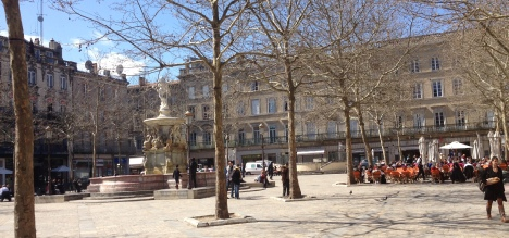 Carcassonne has many attractive squares and cafes.